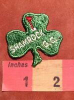 Vtg SHAMROCK GOLF CLUB Advertising Patch (St. Anne Illinois ?) 00M6