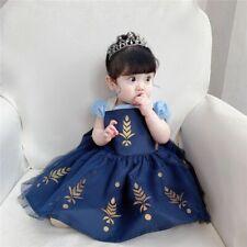 Snow White Sofia Costume Elsa Anna Ariel Rapunzel Girls Princess Dress
