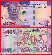 NIGERIA 100 naira 2014 (2015) Commemorative Pick 41  SC /  UNC