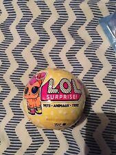 LOL sorpresa Serie 3 PETS nuovo sigillato X2 (ricevere 2 palline)