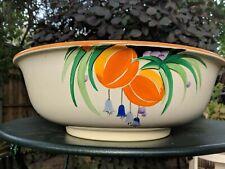 More details for art deco losol ware keeling & co wash basin bowl fruit design