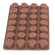 Silicone Emoji Cavities Cake Chocolate Cookie Baking Mould Mold Jell Baking Tray