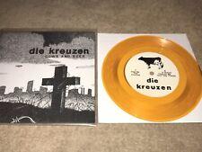 "DIE KREUZEN ""COWS AND BEER"" 7-inch GOLD WAX! KBD PUNK CLASSIC"