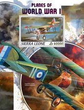 Sierra Leone 2018 Planes of World War I  S201806