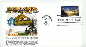 5179 Nebraska Statehood, Panda Cachets, FDC