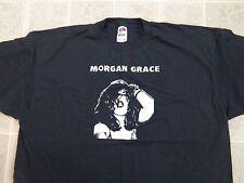 MORGAN GRACE Band T-SHIRT XXL Portland Punk Rock & Roll Wipers Napalm Beach cd