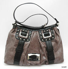 Nwt Guess WHISTLER Large Hobo Shoulder Bag Handbag Satchel Tote ~Grey
