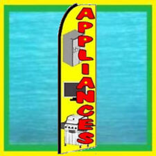 Appliances Advertising Feather Swooper Bow Banner Flag