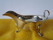 SAUCE BOAT, STERLING SILVER, SHEFFIELD, 1966, SMALL SIZED, EMILE VINNER