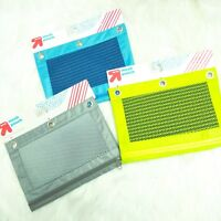 3 Up & Up Mesh Pencil Pouch Zipper Binder Cases