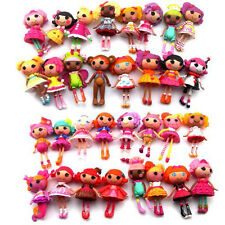 Kids Boys Girls Xmas Gift Randomly 5pcs Lalaloopsy Marina Mini Toys Figures M190