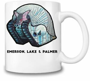 Emerson, Lake & Palmer Album themed 11oz Ceramic coffee Mug Birthday gift.