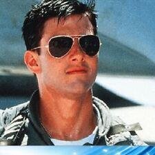 Occhiali da sole Uomo Donna da aviatore a goccia TOP GUN Tom Cruise Vintage Cult