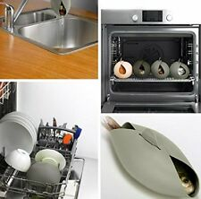 Silicone Loaf Pans Steamer Set- Oven Safe Foldable Pod For Healthy Cooking- Of 2