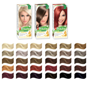Permanent Hair Dye MM Beauty Phyto Colour with Honey & Ginger