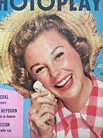 Vintage Collectible Movie Magazine Photoplay June Allyson Cover Mar 1955
