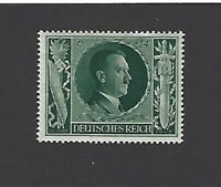 MNH Adolf Hitler Postage stamp / 1943 Birthday / Germany / Third Reich / WWII