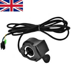12V-99V Ebike Scooter Thumb Throttle w/ LCD Battery Voltage Display Accessory ZH