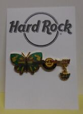 Hard Rock Cafe Pin Butterfly Dangle guitar Memphis 2007 LE500