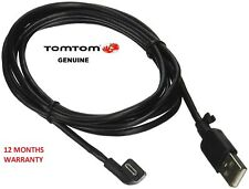 GENUINE TOMTOM USB CAR CHARGER DATA CABLE / COMPATIBLE WITH 4UUC 001.24