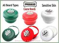 PRORASO SHAVING SOAP in a BOWL for NORMAL SKIN - COARSE BEARDS & SENSITIVE SKIN