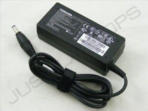 Original Genuino Toshiba Satellite A80 A85 Cargador Adaptador AC PSU