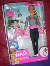 MATTEL~2018~NIB~BARBIE ~YOU CAN BE ANYTHING-ICE SKATING COACH-BARBIE/STUDENT