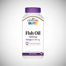 21st Century Fish Oil 1200 mg - 90 Softgels
