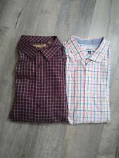 Lot Of 2 Men's XXL Dress Shirts. Crown & Ivy. Roundtree & York