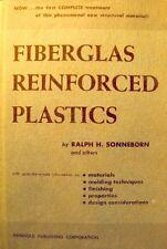 ++RALPH H. SONNEBORN fiberglas reinforced plastics 1957 Reinhold RARE EX++