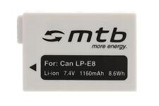 Batería LP-E8 LPE8 para Canon EOS 550D, 600D, 650D, Rebel T2i T3i T4i