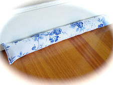 NEW Door breeze blocker, Blue and White, French cottage, Willow ware, Romantic