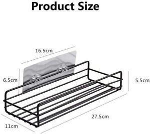 Metal Multipurpose Kitchen Bathroom Shelf Wall Holder Storage Rack Bathroom Rack