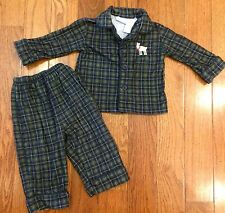Circo Christmas flannel PJ's ~ size 12 months~ good condition!