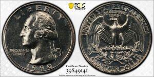 1990 P Washington Quarter PCGS MS63