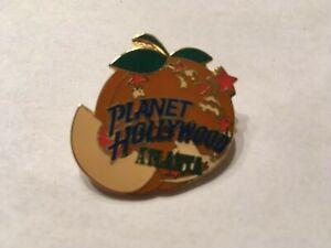 Planet Hollywood Atlanta Georgia Peach Enamel Pin