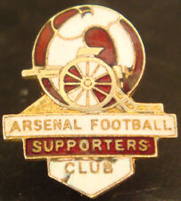 ARSENAL FC Vintage SUPPORTERS CLUB Badge Maker PINCHES LONDON Brooch pin