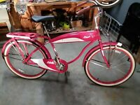 1952 COLUMBIA BOYS BIKE REPLICA, Nice Condition; WOLFEBORO, N.H.  LOCAL PICK-UP