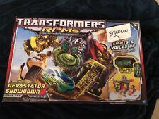 Transformers Revenge Of The Fallen RPMS Devastator showdown track set 2009 Movie
