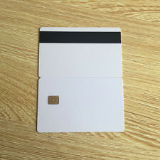 ISO 7816 SLE4442 Smart Contact IC Card With Hico Magnetic Stripe - 20pcs