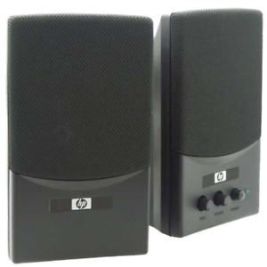 HP USB 2.0 Multimedia Speaker Set Black 5189-0401