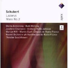 GUSCHLBAUER/OPRF-LAZARUS D 689/MASS 2 IN G MAJOR D 167 2CD KLASSIK NEU SCHUBERT
