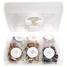 100% Natural Assorted 6 Fruits & Berries 12 pcs Teabag Tea Set 6종 과일 & 베리 티백차 세트