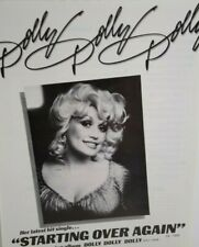 Dolly Parton Starting Over Again Magazine Advertising AD Country Music Clipping