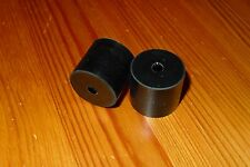 TAMPONE in gomma per il controllo della porta Cinturino Rod su Land Rover Serie 2 & S2a 306471 Paio