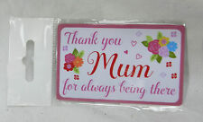 Thank You Mum for Being There - Purse Keepsake Card - BNIB - Mother's Day
