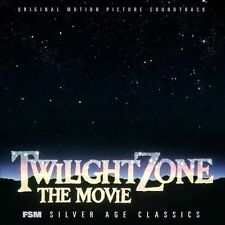 twilight zone the movie cd sealed FSM jerry goldsmith OOP