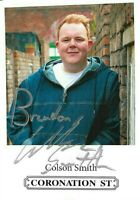 COLSON SMITH AKA CRAIG FROM CORONATION STREET SIGNED CAST CARD