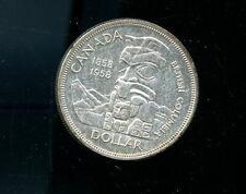 1958 Canada Silver Dollar BU CP479