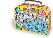 Vilac Puzzle enfant 96 pièces bois Piscine Child Jigsaw puzzle Kind Puzzlespiel